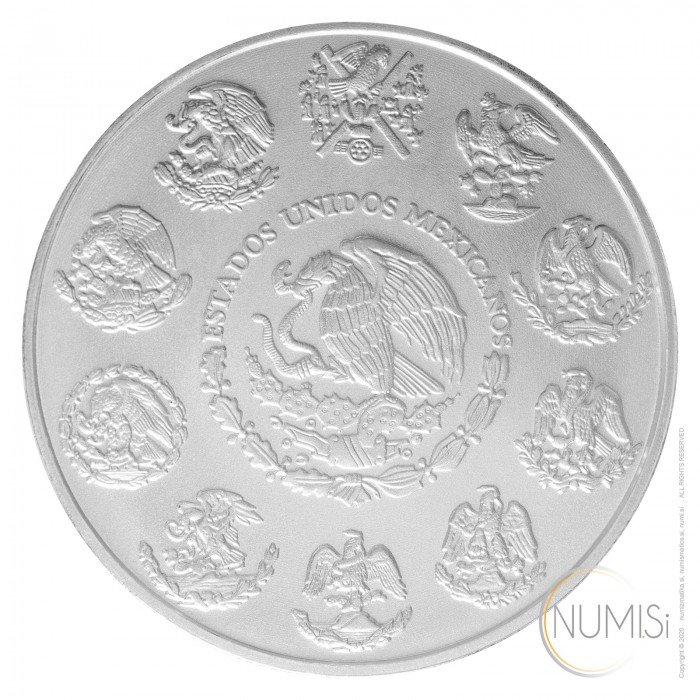 Mexico: 2016 - 1oz .999 Ag BU - Libertad (MX0997X002148) by www.numizmatika.si