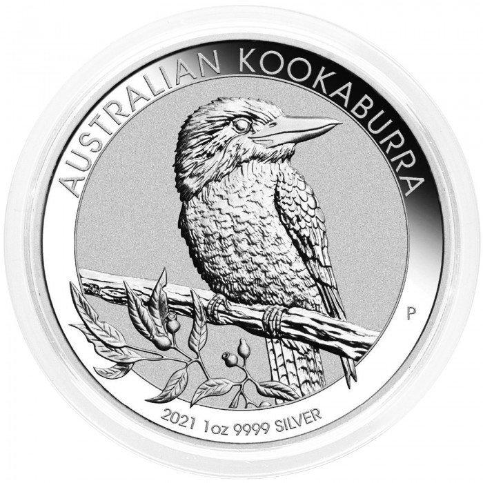 Australia: 1 AUD 2021 - 1oz .9999 Ag BU - KOOKABURRA (AU0992X002164) by www.numizmatika.si
