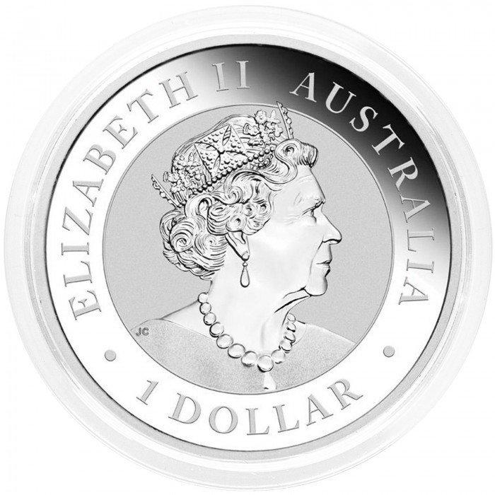Australia: 1 AUD 2021 - 1oz .9999 Ag BU - WEDGE TAILED EAGLE (AU0992X002211) by www.numizmatika.si
