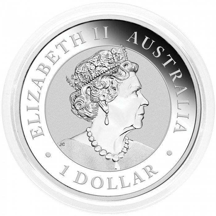Australia: 1 AUD 2021 - 1oz .9999 Ag BU - KOALA (AU0992X002219) by www.numizmatika.si