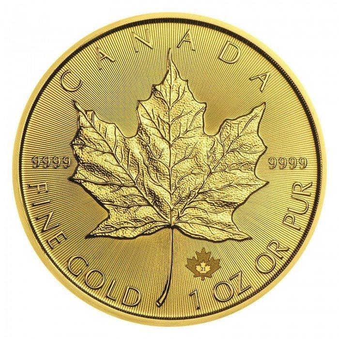 Canada: 50 CAD 2021 - 1oz .9999 Au ST - MAPLE LEAF (Javorjev list) (CA0992X002275) by www.numizmatika.si
