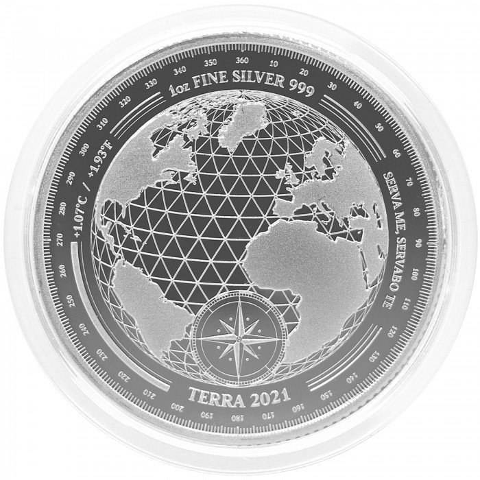 Tokelau: 5 NZD 2021 - .999 Ag BU - Terra (TK0992X002278) by www.numizmatika.si