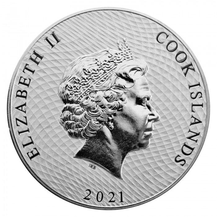 Cook islands: 1 NZD 2021 - 1oz .9999 Ag ST - Bounty (CK0992X002285) by www.numizmatika.si