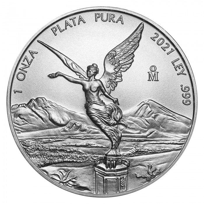 Mexico: 2021 - 1oz .999 Ag ST - Libertad | 25PCS (MX0992X002302T) by www.numizmatika.si