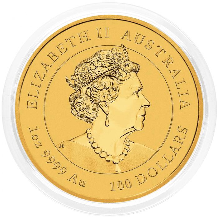 Australia: 100 AUD 2020 - 1 oz .9999 Au BU - Lunar III - MOUSE (AU0993X002243) by www.numizmatika.si