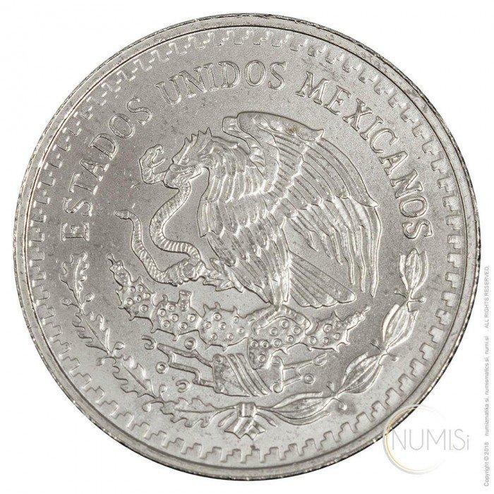 Mexico: 1992 - 1/4 oz .999 Ag BU - Libertad (MX1021220200X000309) by www.numizmatika.si