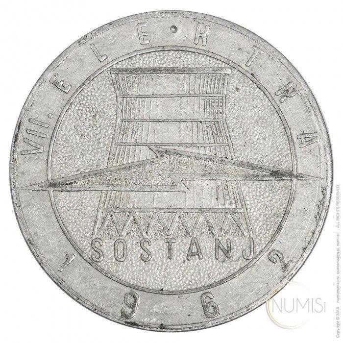VII. ELEKTRIKA - SOSTANJ 1962 (XX1051440100X000321) by www.numizmatika.si