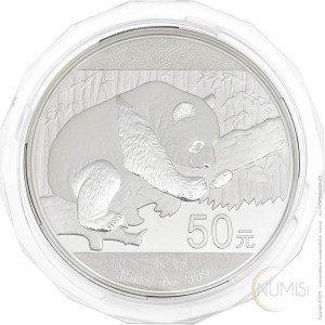 Kitajska: 50 Yuan 2016 - 150 g .999 Ag PP - Panda